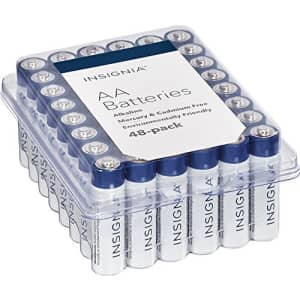 Insignia AA Batteries 48-Pack for $35