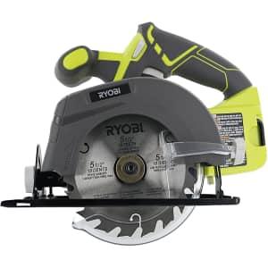 Ryobi One 18V Circular Saw (No Battery) for $65
