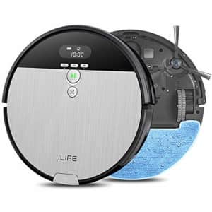 ILIFE V8s, 2-in-1 Mopping,Robot Vacuum,Big 750ml Dustbin,Enhanced Suction Inlet,Zigzag Cleaning for $220