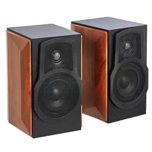 Amazon Basics 50W Bookshelf Speakers for $40