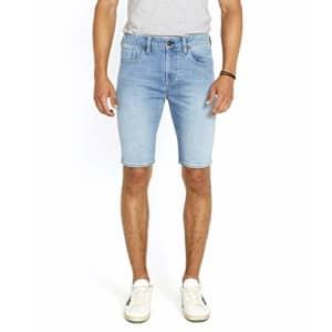 Buffalo David Bitton Men's Parker Denim Shorts, Sanded Mid Blue, 31 for $37