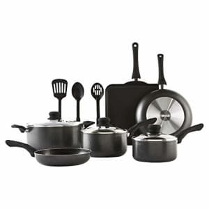 IMUSA USA Complete Cookware Set, Charcoal for $70