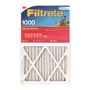 """3M Filtrete 1000 14"""" x 24"""" x 1"""" Pleated Allergen Air Filter for $11 for Ace Rewards Members"""