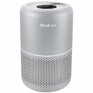 LEVOIT Air Purifier for Home Allergies and Pets Hair Smokers in Bedroom, H13 True HEPA Filter, 24db for $150