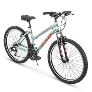 Huffy Hardtail Mountain Trail Bike 24 inch, 26 inch, 27.5 inch, 26 inch wheels/15 inch frame, Gloss for $275