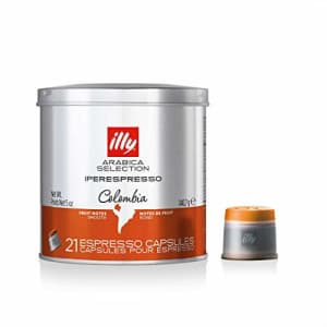 illy Coffee, Arabica Selection Colombia Espresso Capsules, Single Origin, Smooth and Balanced with for $19