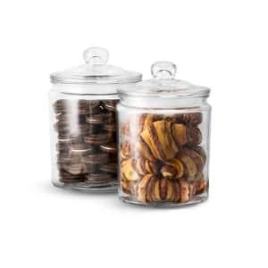 Kook Glass Kitchen Jars 2-Pack for $20