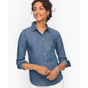 Tops at Talbots: 30% off in cart