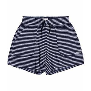Roxy Girls' Shorts, Mood Indigo ME Stripes, 6 for $19
