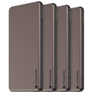 Mophie Powerstation 4,000mAh USB-C Charger 4-Pack for $19