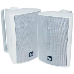 Dual Electronics Indoor/Outdoor 3-Way Speaker Pair for $37