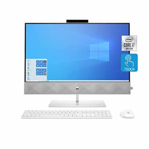 HP Pavilion All-in-One Desktop Computer, 27-inch Full HD Touchscreen, Intel Core i7-10700T for $1,645
