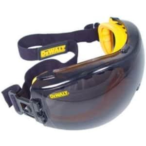Dewalt DPG82-21 Concealer Smoke Anti-Fog Dual Mold Safety Goggle for $13