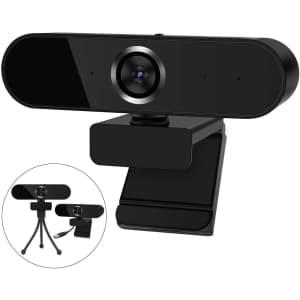 Warmq 1080p Webcam w/ Mic for $11