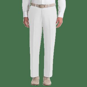 Lauren Ralph Lauren Men's UltraFlex Classic-Fit Linen Pants for $24