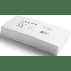 Baseline Gummed #10 Business Envelopes 100-Pack for $2