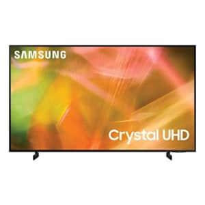 """Samsung AU8000 UN65AU8000FXZA 65"""" 4K HDR LED UHD Smart TV (2021) for $698"""