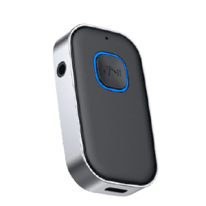Moobibear Bluetooth 5.0 Dual Aux Car Adapter for $18