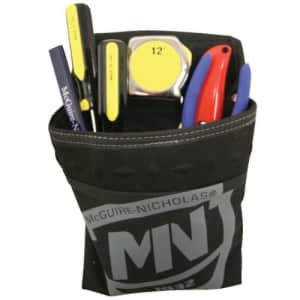 McGuire-Nicholas Single Pocket Clip Pouch   Mini Pouch for Additional Storage on Tool Belt for $11
