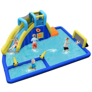 Costway Inflatable Water Slide Jumping House for $269