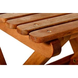 BYER OF MAINE, Pangean, Folding Wood Table, Hardwood, Folding Patio Table, Porch Table, Easy to for $58