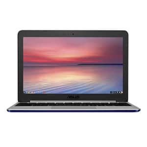 ASUS C201PA-DS02 11.6-Inch Laptop (Navy Blue) for $334