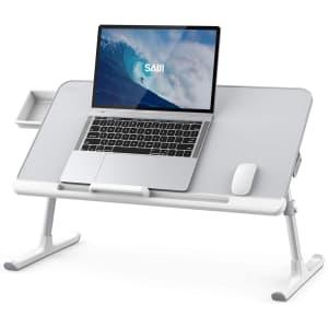 Saiji Foldable Laptop Desk for $65