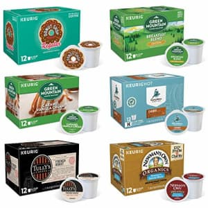 Keurig K-Cup Pod Variety Pack, Single-Serve Coffee K-Cup Pods, Amazon Exclusive, 72 Count for $40
