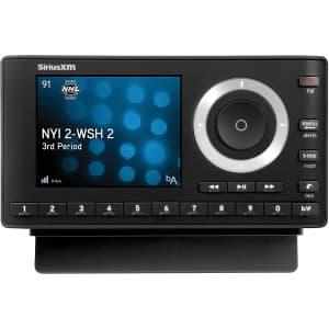 Sirius XM Onyx Plus Satellite Radio Receiver w/ Vehicle Kit and 3-Months Service for $90