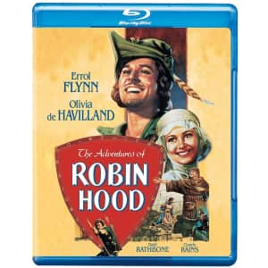 The Adventures of Robin Hood Blu-ray for $15