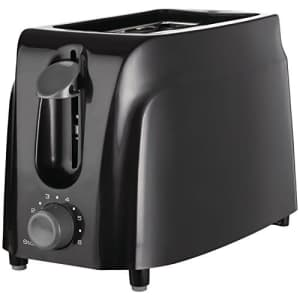 Brentwood TS-260B Cool Touch 2-Slice Toaster, Black for $14