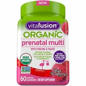 Vitafusion Organic Prenatal Multivitamin, 60ct for $61