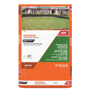 Ace Hardware All-Purpose Winterizer For All Grasses for $35 for Ace Reward Members
