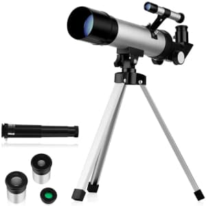 Oqxh Tabletop Beginners Telescope for $20