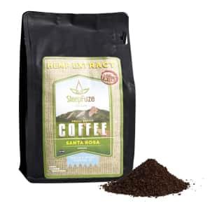 SteepFuze 12-oz. Small Batch Santa Rosa CBD Coffee for $24