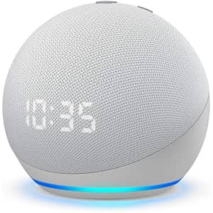 4th-Gen Amazon Echo Dot with Clock for $60