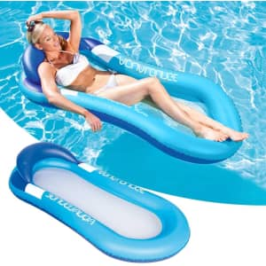 Bluegala Inflatable Pool Hammock Float for $14