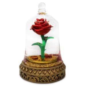 Disney Beauty and the Beast Enchanted Rose Snowglobe for $42