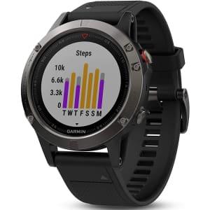 Garmin Fenix 5X Sapphire Smartwatch for $342