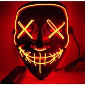 Eahthni LED Light Up Halloween Mask for $7
