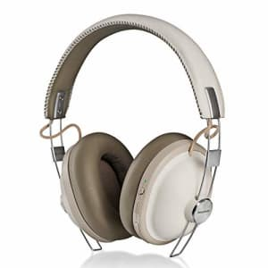 Panasonic Retro Noise Cancelling Bluetooth Wireless Headphone with Voice Assist, Microphone, Deep for $50