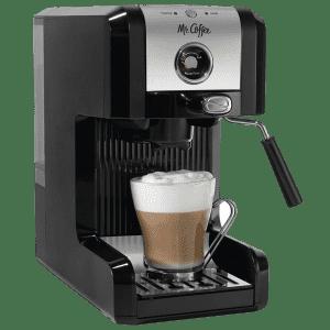 Mr. Coffee Easy Espresso & Cappuccino Machine w/ Milk Frother for $79
