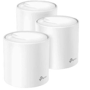 TP-Link Deco X20 WiFi 6 Mesh WiFi System for $215 in cart
