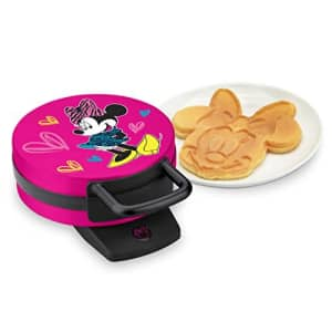 Disney DMG-31 Minnie Mouse Waffle Maker, Pink for $28
