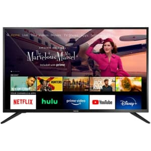 """Toshiba 43"""" 1080p LED Fire TV Edition Smart HDTV for $200 for Prime members"""