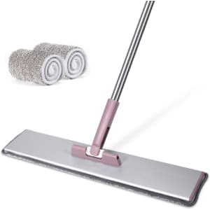 "Moosoo 20"" Microfiber Floor Mop for $30"