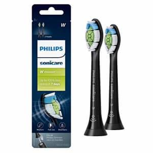 Genuine Philips Sonicare DiamondClean Toothbrush Head, 2 Pack, Black, HX6062/95 for $49
