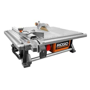 """Ridgid 7"""" Table Top Wet Tile Saw for $230"""