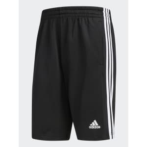 adidas Men's 3-Stripes Inspire Shorts: 2 for $34