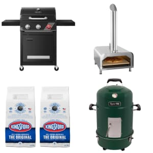 Grills and Grill Accessories at Home Depot: Up to $50 off